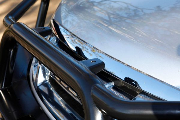 D-Max Tradesman Bull Bar black steel